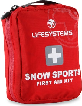 Lifesystems Snow Sports Portable First Aid Kit 21 Items Red
