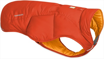 Ruffwear Quinzee Jacket Insulated Dog Coat, L Sockeye Red