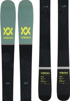 Volkl Womens Kenja B-Grade Women's Skis, 156cm Black/Green 2019