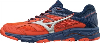Mizuno Wave Mujin 5 Men's Trail Running Shoe, UK 10 Cherry Tomato