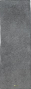 Gaiam Grippy Yoga/Pilates Mat Towel, Citron/Storm
