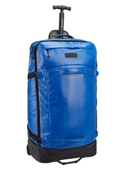 Burton Multipath Checked Wheeled Travel Bag, 90L Lapis Blue Coated