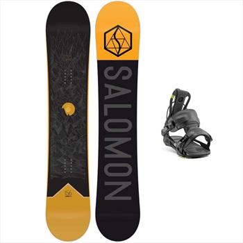 Salomon Sight | Fenix Snowboard Package, 150 Cm | Large Black 2020