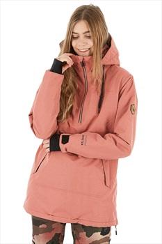 Volcom Fern Gore-Tex Pullover Womens Ski/Snowboard Jacket S Mauve
