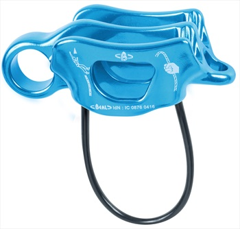 Beal Air Force 3 Rock Climbing Belay Device, Blue