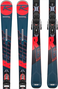 Rossignol React R6 Compact Xpress 11 Skis, 177cm Red/Bue 2020