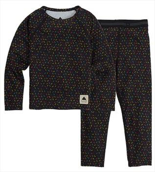 Burton Minishred 1st Layer Toddler's Fleece Set, 4T Sprinkles