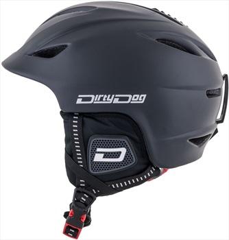 Dirty Dog Eclipse Snowboard/Ski Helmet S Shiny Black