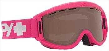 SPY Getaway Bronze Snowboard/Ski Goggles, S/M Matte Raspberry