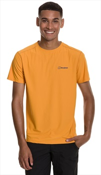 Berghaus 24/7 Tech Short Sleeve T-Shirt, L Sunflower