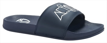 Animal Slyde Slider Flip Flops, UK 11 Indigo Blue