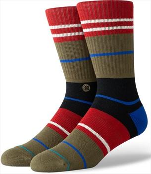 Stance Foundation Crew Skate Socks, L Grunge
