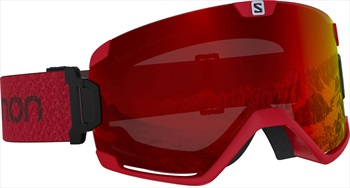Salomon Cosmic Mid Red Snowboard/Ski Goggles, M/L Matador