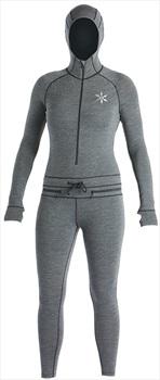 Airblaster Womens Merino Ninja Thermal Base Layer Suit, XS, Black