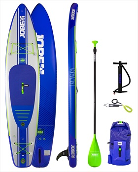 """Jobe Duna Inflatable Touring SUP Paddle Board Package, 11'6"""" Blue 2020"""