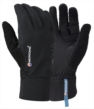 Montane VIA Trail Softshell Trail Running Glove, M Black