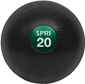 SPRI Dead Weight Gym Slam Ball, 9 KG Black/Green