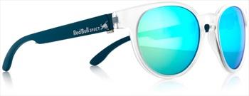 Red Bull Spect Wing 4 Green Polarised Sunglasses, Matte Transparent