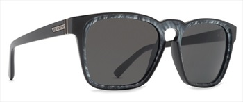 Von Zipper Levee Gradient Lens Sunglasses, Black White Swirl