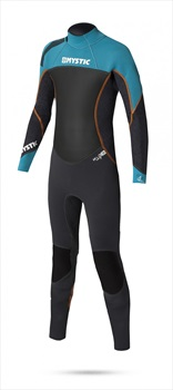 Mystic Star 3/2mm Full Kids Wetsuit, Kids L Teal Black
