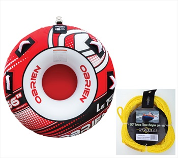 O'Brien Le Tube   Storm Rope Cheap Inflatable Tube Pack 1 Rider