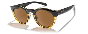 Zeal Crowley Copper Sunglasses, Black Tortoise