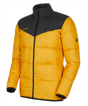 Mammut Whitehorn Down Insulated Mens Reversible Jacket, S Golden Black