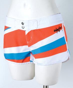 Liquid Force Burst Board Shorts, UK 8 US 4 Eur 36 Orange