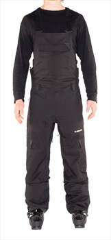 Armada Vision Stretch Snowboarding/Ski Bib Pants, XL Black