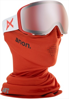 Anon M2 Sonar Silver Ski/Snowboard Goggles, M/L MFI Eyes