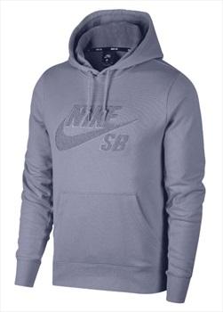 Nike SB Icon Seasonal Pullover Hoodie, M Indigo Haze