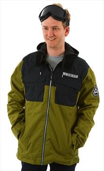Westbeach Dauntless Ski/Snowboard Jacket, XXL Combat Green