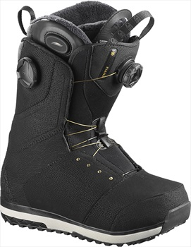 Salomon Kiana Toast BOA Womens Snowboard Boots, UK 7.5 Black 2020