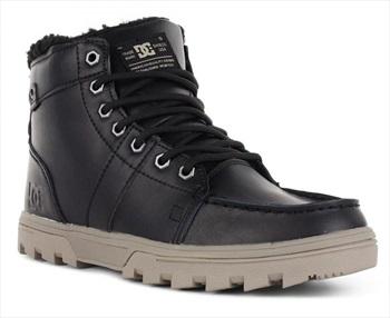 DC Mens Woodland Men's Winter Boots, UK 5 Black/Tan