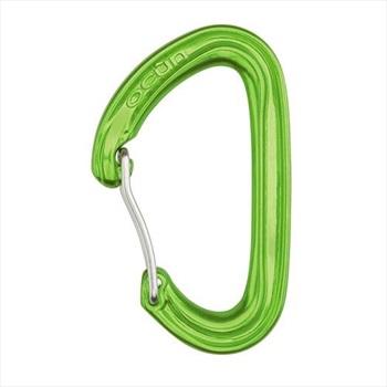 Ocun Kestrel Wire Gate Rock Climbing Carabiner, 23kN Green