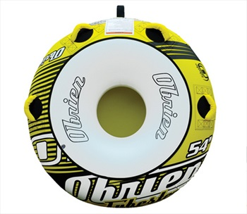 O'Brien Tubester Round Towable Inflatable Tube 1 Rider Yellow