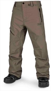 Volcom L Gore-Tex Ski/Snowboard Pants, L Teak