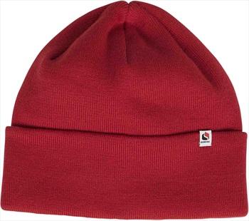 Bonfire Crest Ski/Snowboard Beanie, One Size Red