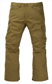 Burton Cargo Short Fit Snowboard/Ski Pants, M Martini Olive
