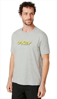Oakley Tridimensional Short Sleeve T-Shirt, M New Granite Heather