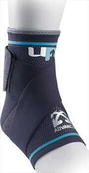 Ultimate Performance Advanced Compression Ankle Support, L Black