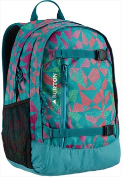 Burton Kid's Day Hiker Snowboard Backpack, 20L Green Blue Slate