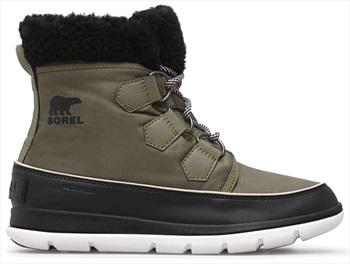 Sorel Explorer Carnival Women's Snow Boots, UK 8 Hiker Green/Black