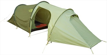 The North Face Heyerdahl Double Cab Tent With Porch, 2 Man Green