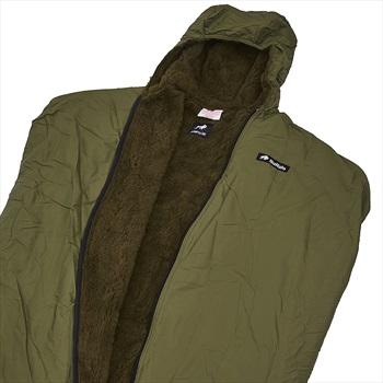 Buffalo 4S Inner Sleeping Bag Liner, XL Olive