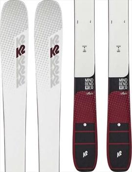 K2 Womens Mindbender 90c Alliance Women's Skis 156cm, White, Ski Only, 2020