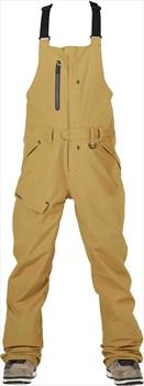 Bonfire Reflect Bib Ski/Snowboard Pants, S Camel