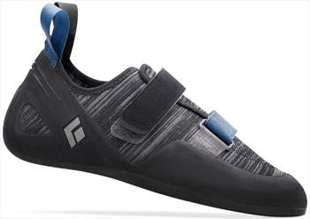Black Diamond Momentum Velcro Rock Climbing Shoe, UK 6   EU 39.5 Ash