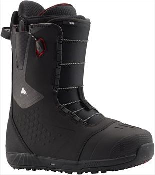 Burton Ion Men's Snowboard Boots, UK 9 Black/Red 2020