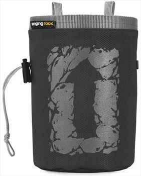 Singing Rock Large Arrow Rock Climbing Chalk Bag, Dark Grey